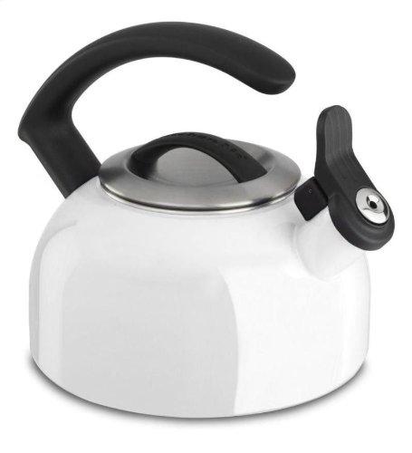 Kitchenaid 1.5-quart Remv Lid Tea Kettle Whistle /C Handle Kten15anwh White