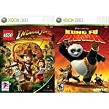 2 Xbox 360 Games: Lego Indiana Jones + Kung Fu Panda