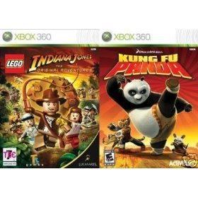 Lego Indiana Jones: The Original Adventures / Kung Fu Panda Amazon.com