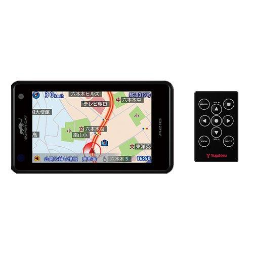 Super Cat A210 1ボディタイプ GPSレーダー探知機