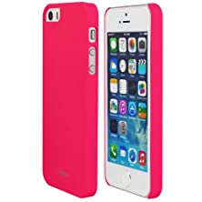 buy Iphone 5S Case, Totallee The Slim Executive, Hard Shell With Comfort Coating For Extra Grip - Sleek Protective Snap On Cover For Iphone 5 / 5S (Hot Pink)