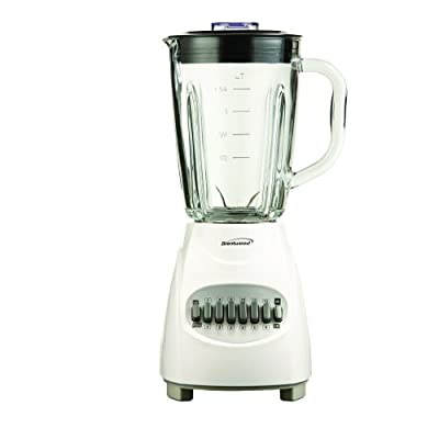 Brentwood JB-920W 12-Speed Blender with Glass Jar, White from Petra (Drop Ship)