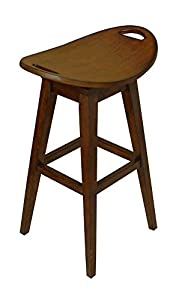 Amazon Com Thoroughbred 32 Quot Backless Swivel Bar Stool In
