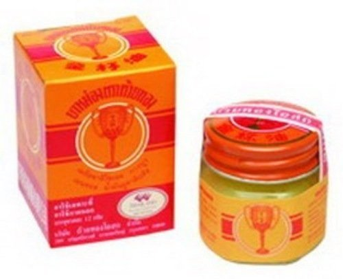 Golden Cup Balm 22g (3 Pack) Product of Thailand (Golden Cup Balm compare prices)