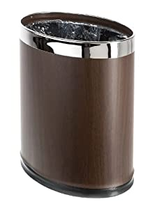Brelso 39 Invisi Overlap 39 Metal Trash Can Open