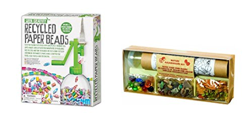 Set-of-2-DIY-Craft-Kits-Recycled-Paper-Beads-and-Nature-Kaleidoscope