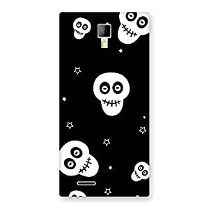 Enticing Skull Star Back Case Cover for Micromax Canvas Xpress A99