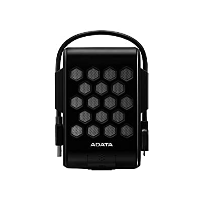 ADATA USA DashDrive Durable HD720 2TB USB 3.0 External Hard Drive Water Proof, Shock Proof, Dust Proof (AHD720-2TU3-CBK) Black