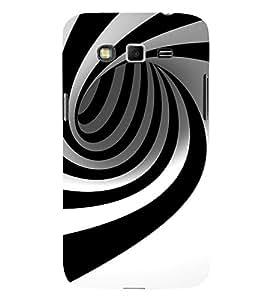 EPICCASE Black N White illustion Mobile Back Case Cover For Samsung Galaxy Grand Neo Plus (Designer Case)