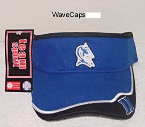 Duke Blue Devils 2-Tone Visor Hat - NCAA Baseball Golf Cap