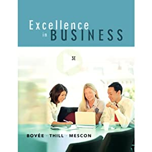 VangoNotes for Excellence in Business, 3/e | [Courtland L. Bovee, John Thill, Michael H. Mescon]