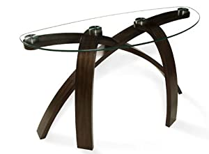 Sofa Table in Hazelnut - Allure Collection