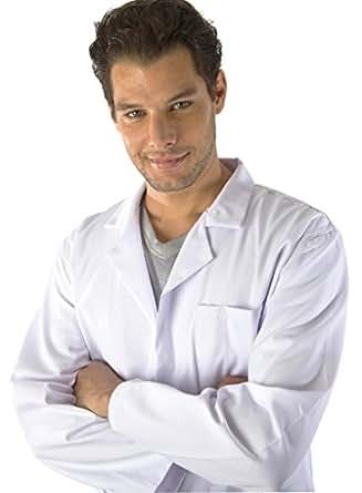 Dr. James Unisex White Polycotton Lab Coat L