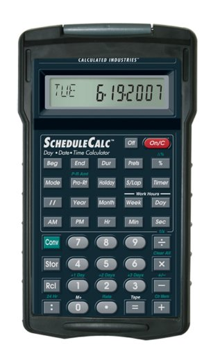 Calculated Industries 9430 ScheduleCalc