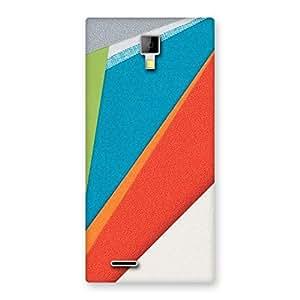 Impressive HexCol Pattern Multicolor Back Case Cover for Micromax Canvas Xpress A99