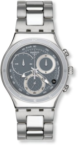 Swatch Men's Lifestyle Oblique End Watches YCS546G Grey