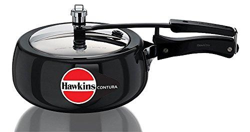 Hawkins Contura 3.5 Liters Hard Anodized Pressure Cooker