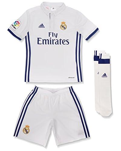 adidas Trainingsoutfit Real Madrid Cf 2015/16 H Smu Mini weiß/blau