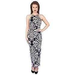 Tenn Women's Maxi Dress (BLVG11NSXS_X-Small_Multi)