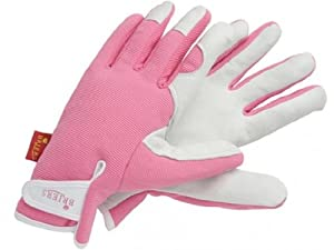 Briers lady gardener gloves pink garden for Gardening gloves amazon