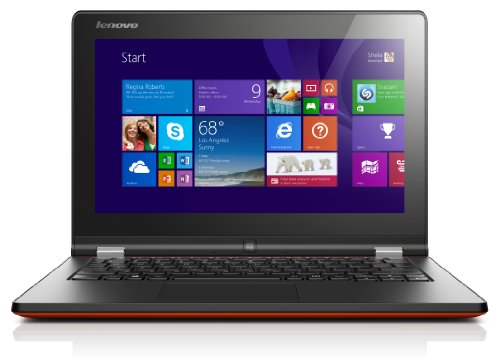 Lenovo Yoga 2 29,5 cm (11,6 Zoll) Notebook (Intel Celeron N2930, 1,8GHz, 4GB RAM, 500GB HDD, Intel HD, Win 8) clementine/orange