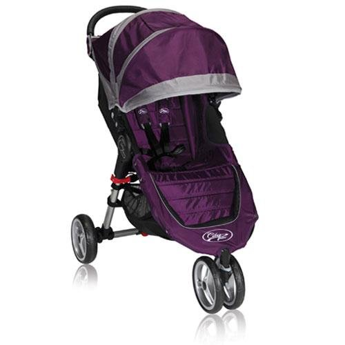 Baby Jogger 2012 City Mini Single Stroller, Purple/Gray (Discontinued by Manufacturer)