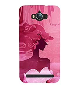EPICCASE classy fairy Mobile Back Case Cover For Asus Zenfone Max (Designer Case)