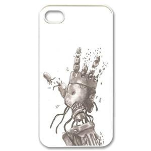 CTSLR Cartoon & Anime Series Protective Snap-on Hard Back Case Cover for iPhone 4 & 4S - 1 Pack - Fullmetal Alchemist / Full Metal Alchemist - 56