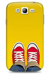 GeekCases Red Shoe Back Case for Samsung Grand