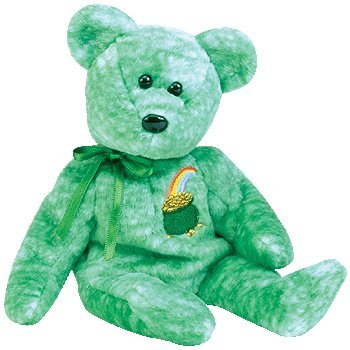 TY Beanie Baby - KILLARNEY the Irish Bear - 1