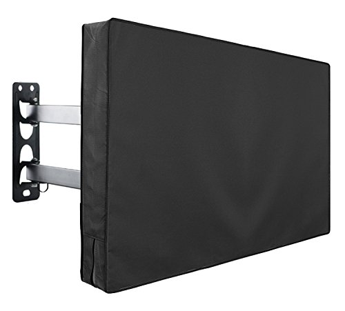 Outdoor TV Cover Fits 46″ – 48″ TV – Water and Dust Resistant – with Remote Control Storage Pocket