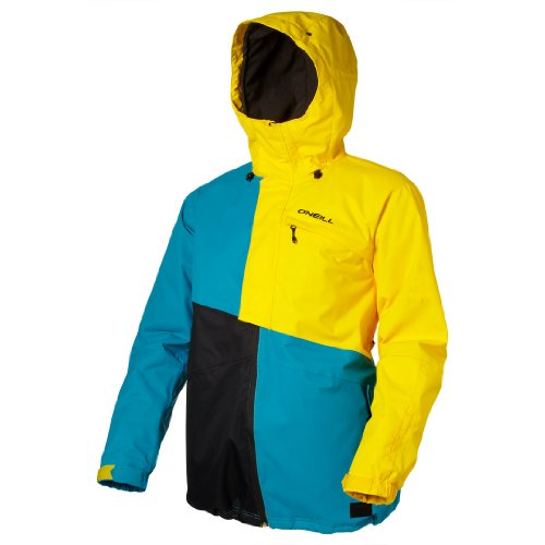 O'Neill Herren Snow Jacke PMFR THEORY, chrome yellow, XL, 250027