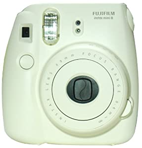 Fujifilm New Model Fuji Instax 8 Color White Instax Mini 8 Instant Camera