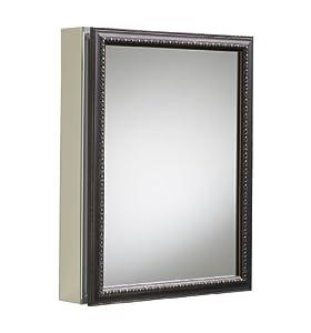 Kohler k 2967 br1 aluminum cabinet with oil for Bathroom medicine cabinets 14 x 18