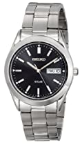 Big Sale Seiko Men's SNE039 Stainless Steel Solar Watch