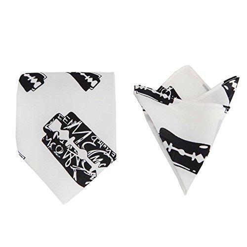 vintage-da-uomo-motivo-english-the-barber-silk-set-con-tasca-gemelli-quadrati-3-pezzi-100-wrapped-pr