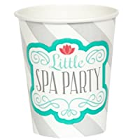 Little Spa Party 9 oz. Paper Cups (8) from Party Destination