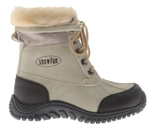 SnowFun Jungen Stiefel beige mit Fell 1.542201-3519 günstig online kaufen