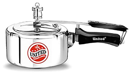 United-Aluminium-4-L-Pressure-Cooker-(Inner-Lid)