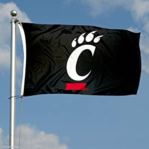 Buy Cincinnati Bearcats Flag Large 3x5 by College Flags and Banners Co.