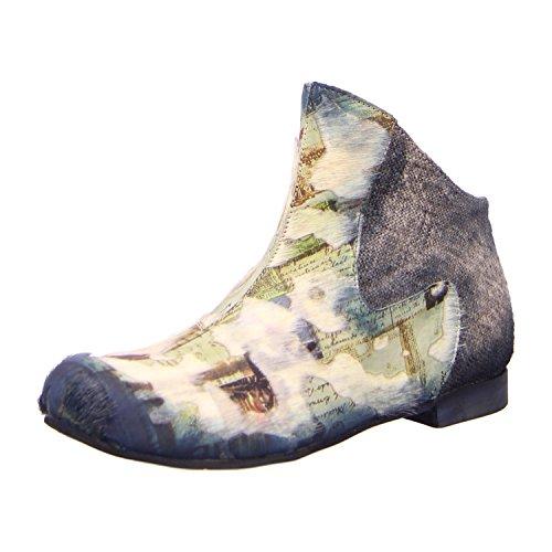 Papucei PATRICIA PONEI BLUE, Stivali donna, Blu (ponei blue), 36 EU