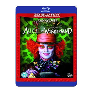Alice In Wonderland 3D [Reino Unido] [Blu-ray]
