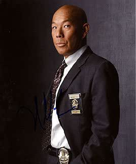 MICHAEL PAUL CHAN (The Closer) 8x10 Celebrity Photo Signed In-Person