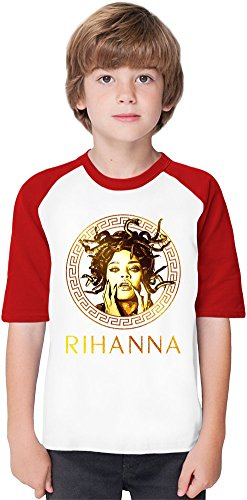 rihanna-bad-girl-riri-golden-medusa-fashion-soft-material-baseball-kids-t-shirt-by-true-fans-apparel