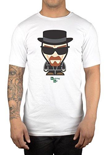 AWDIP Mens Official Breaking Bad Heisenberg Minion T-Shirt Walter White Jesse Pinkman