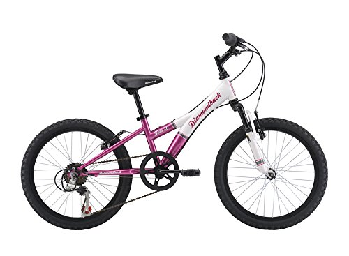 Diamondback Bicycles Youth Girls 2015 Tess 20 Complete Hard Tail Mountain Bike, 20-Inch Wheels/One Size