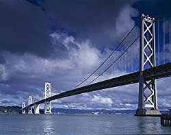 Bay Bridge Tableau, San Francisco Photograph - Beautiful 16x20-inch Photographic Print by Carol M. Highsmith