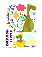 Baleno Vinilo Decorativo Dragon (Multicolor)
