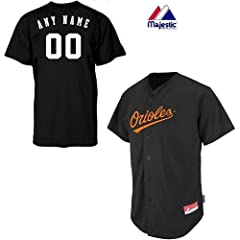 Baltimore Orioles Full-Button CUSTOM or BLANK BACK Major League Baseball Cool-Base... by Majestic Authentic Sports Shop