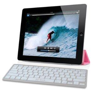[wireless keyboards],Bluetooth Wireless White Keyboard for IPad & Iphone 4